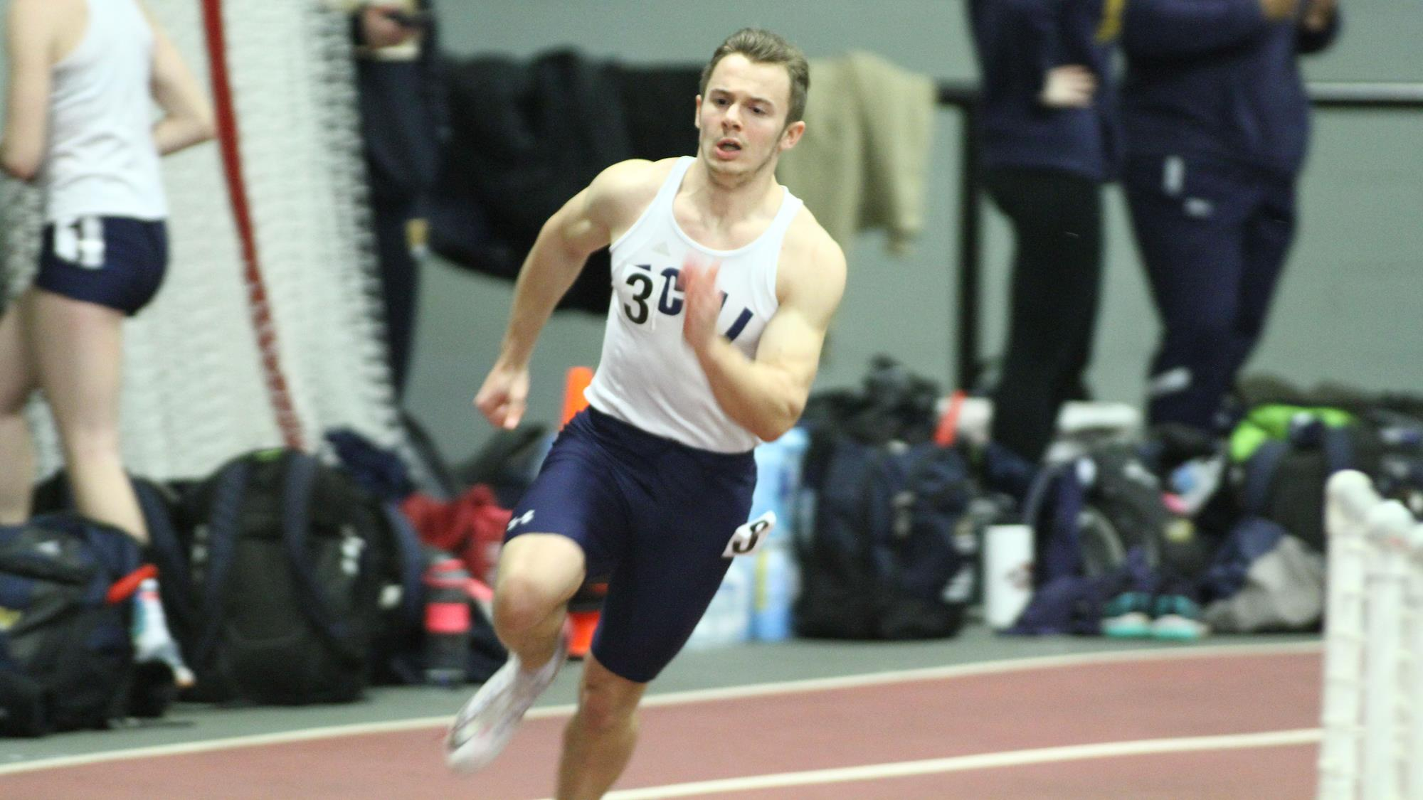 Men's Track & Field Competes in David Hemery Valentine Invitational